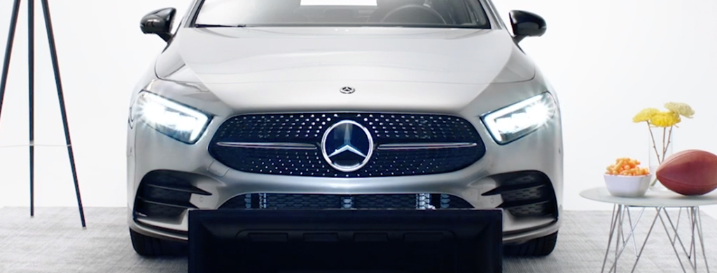 Mercedes Superbowl Insta Spots